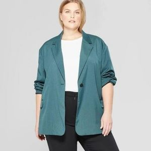 a28f62703 Prologue Long Sleeve Oversized Slouchy Blazer NWT